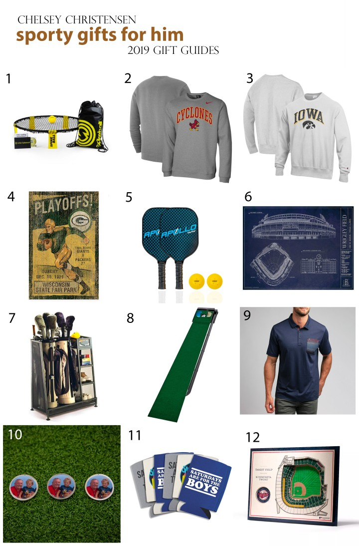 2019 Gift Guide: Sporty Gifts for Him