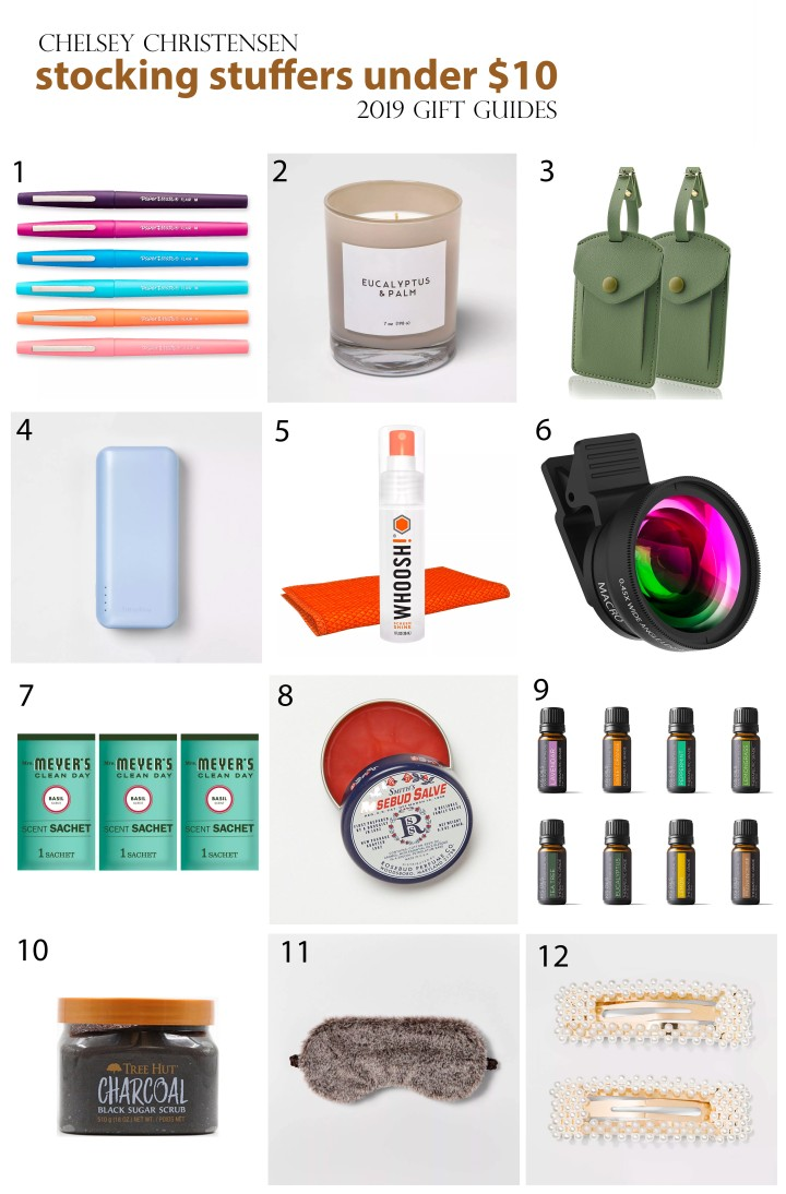 2019 Gift Guide: Stocking Stuffers Under $10