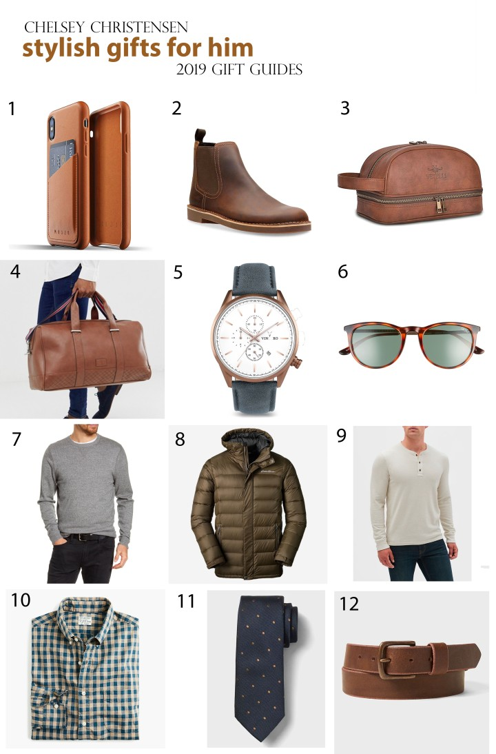 2019 Gift Guide: Stylish Gifts for Him